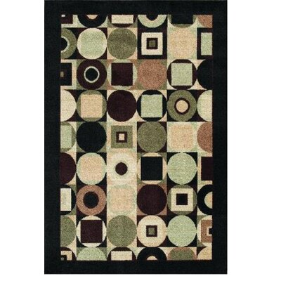 Modern Elements Tribeca Black Rug