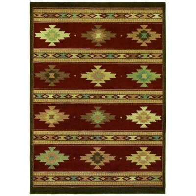 Shaw Rugs Origins Painted Desert Cayenne Red Rug