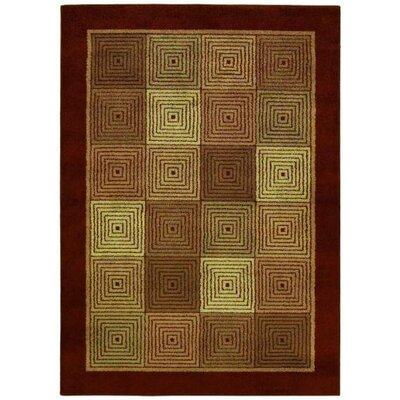 Shaw Rugs Origins Rhythm Cayenne Red Rug