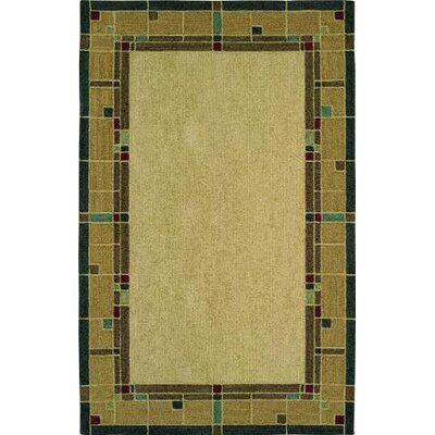 Nexus Glass Block Amber Rug