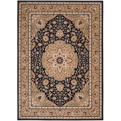 Shaw Rugs Arabesque Easton Cannon Black/Tan Rug