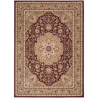 Shaw Rugs Arabesque Easton Firebrick Red Rug