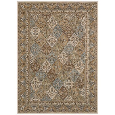 Arabesque Stratford Light Blue Multi-Colored Rug
