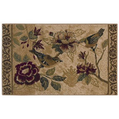 Reflections Bird Study Novelty Rug