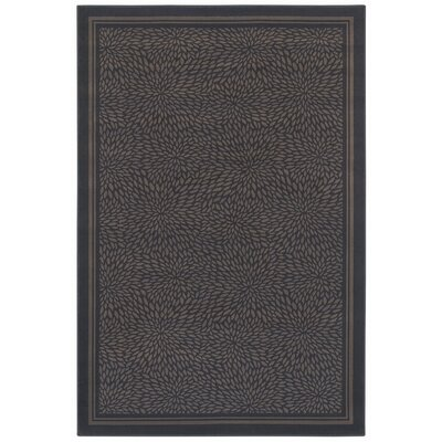 Woven Expressions Gold Zoe Chocolate Rug