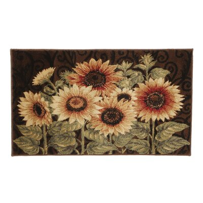 Reflections Sunflower Medley Novelty Rug
