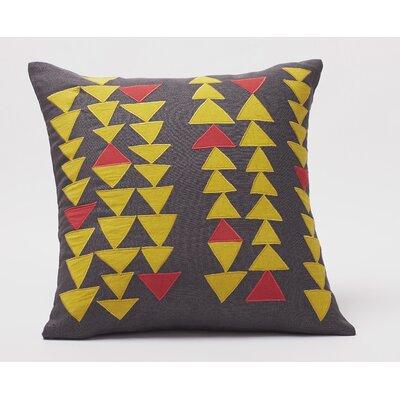 Coyuchi Triangle Row Decorative Pillow