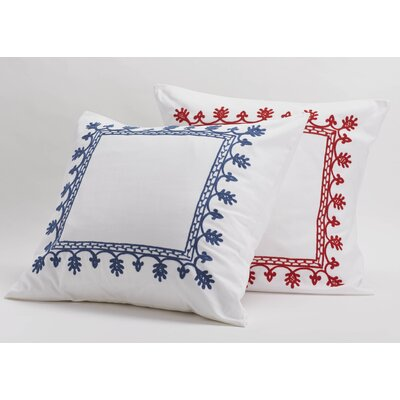 Coyuchi Aari Embroidered Sham