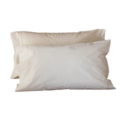 Coyuchi Percale 300 Thread Count Pillowcase