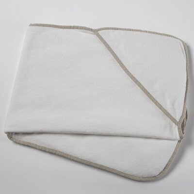 Coyuchi Linen and Terry Hooded Towel Baby