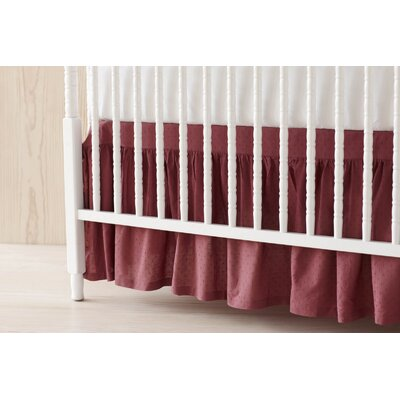 Coyuchi Swiss Dot Crib Skirt