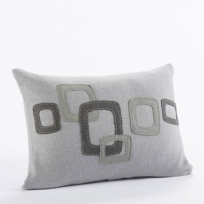Coyuchi Layered Frame Wool Decorative Pillow