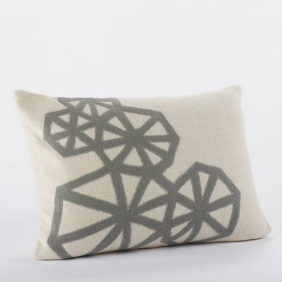Coyuchi Pinwheel Applique Wool Decorative Pillow