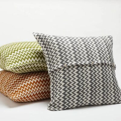 Coyuchi Zigzag Decorative Pillow