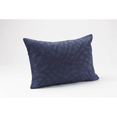 Coyuchi Endless Embroidered Linen Decor Pillow
