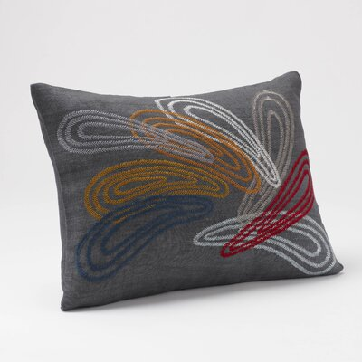 Coyuchi Color Splash Linen Decor Pillow