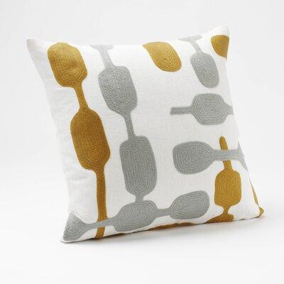 Coyuchi Overlap Crewel Linen Pillow