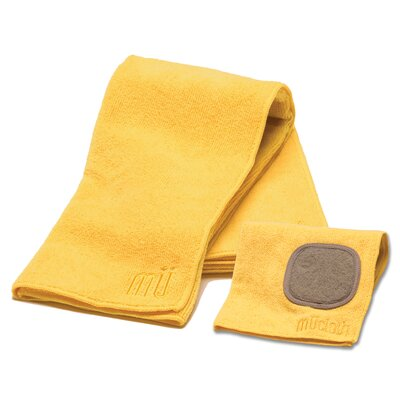 MU Kitchen MUmodern Dishcloth and Dishtowel Set in Chiffon