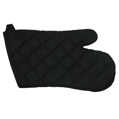 "MU Kitchen MUincotton 13"" Oven Mitt in Onyx"