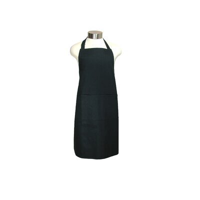 "MU Kitchen MUincotton 35"" Full Apron in Onyx"