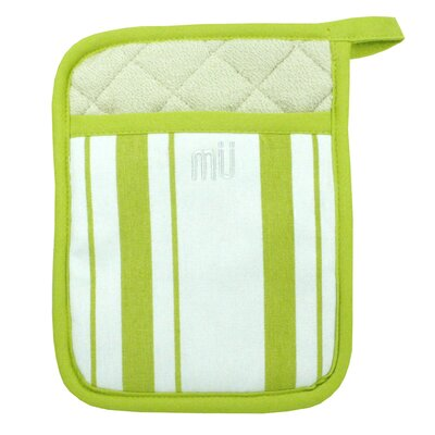 MU Kitchen MUincotton Potholder in Kiwi Stripe (Set of 2)