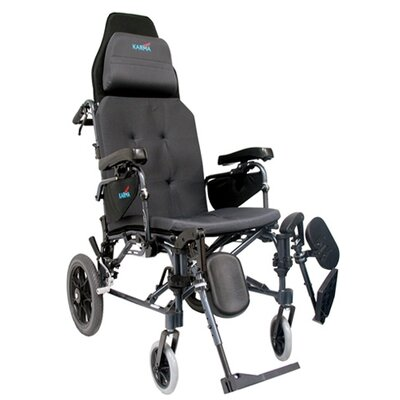 Karman Healthcare MVP Reclining Transport Wheelchair