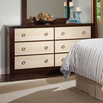Standard Furniture Mesa 6 Drawer Dresser