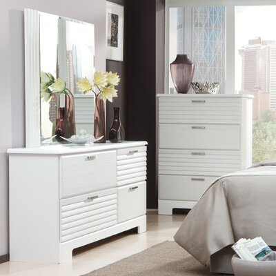 Standard Furniture Action 4 Drawer Dresser