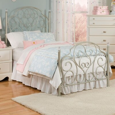 Standard Furniture Spring Rose Wrought Iron Bedroom Collection