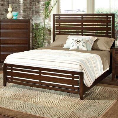 Drake Espresso Panel Bed