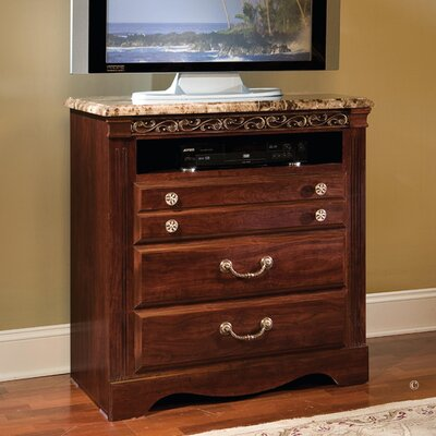 Triomphe 3 Drawer Media Chest