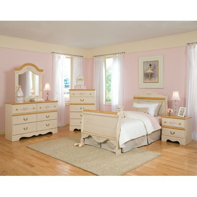 Standard Furniture Princess Sleigh Bed