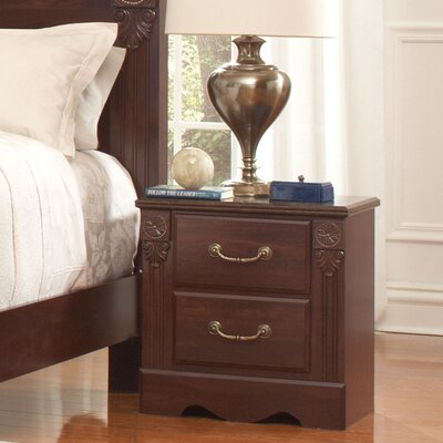 Carrington 2 Drawer Nightstand