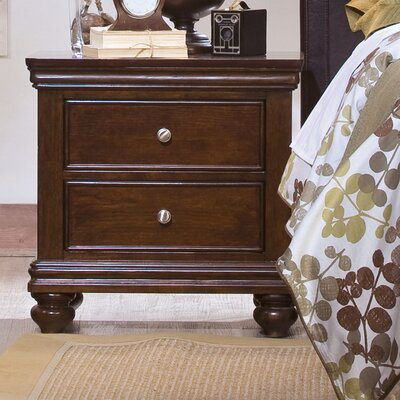 Essex 2 Drawer Nightstand