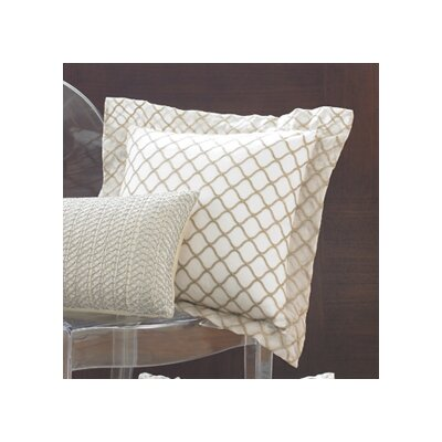 Wildcat Territory Ina Scallop Silk Organza Decorative Pillow