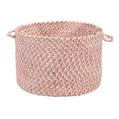 Colonial Mills Blokburst Tea Party Pink Utility Basket