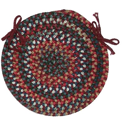 Chestnut Knoll Round Braided Chair Pad