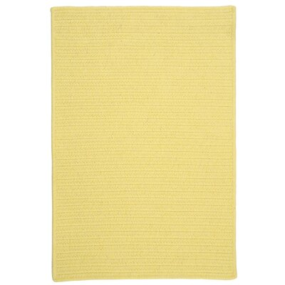 Colonial Mills Courtyard Yellow Rug