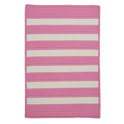 Colonial Mills Stripe It Bold Pink Rug