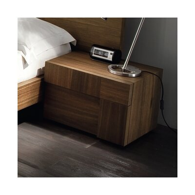 Rossetto USA Air 2 Drawer Right Nightstand