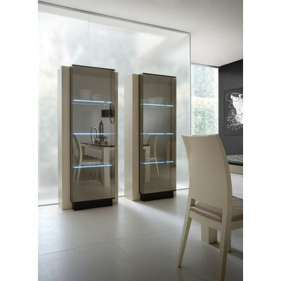 Rossetto USA Diamond Dining Curio Cabinet