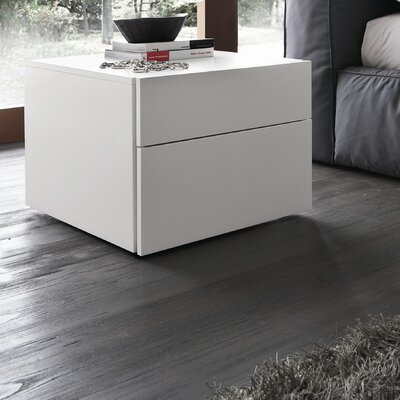 Rossetto USA Matrix 2 Drawer Nightstand