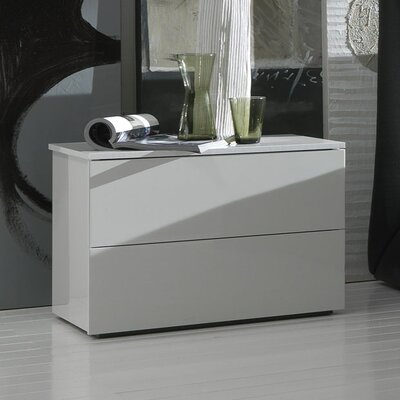 Rossetto USA Coco Fun 2 Drawer Nightstand