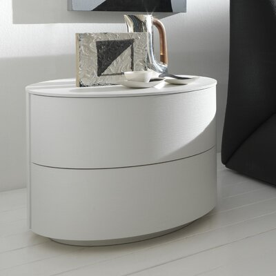 Rossetto USA Coco Moon 2 Drawer Nightstand