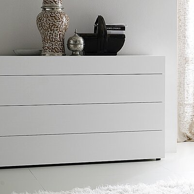 Rossetto USA Matrix 4 Drawer Dresser