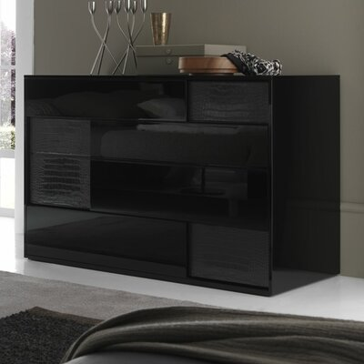 Rossetto USA Nightfly 6 Drawer Dresser