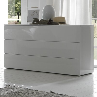 Rossetto USA Coco Fun 3 Drawer Dresser
