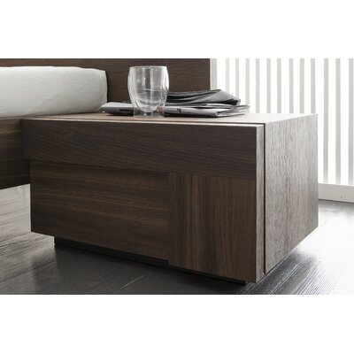 Rossetto USA Air 1 Drawer Right Door Nightstand