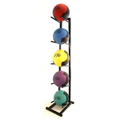 J Fit Medicine Ball Rack
