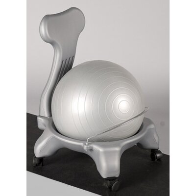 J Fit Exercise Balance Ball Chair